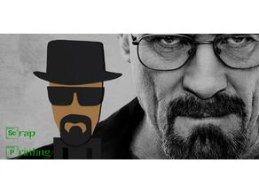 Heisemberg (Breaking Bad) Bookmark