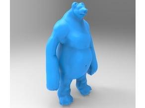 Bear (inspired by Baloo the Bear)