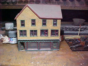 SCALEPRINT DOUBLE SHOP FRONT 00/HO SCALE