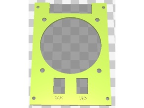 Ramps Cover For 70x70 FAN - LCD