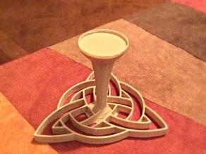 Celtic Trinity Tealight Holder
