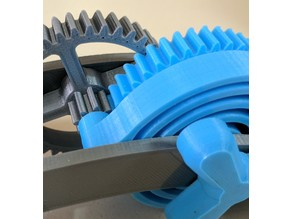 Thickened Large Idler Gear for Dual Mode Spring Motor Rolling Chassis