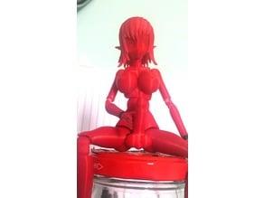 Medium Ball Joint Doll (bjd) Futanari Mod