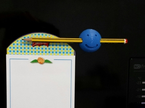 Fridge pencil holding magnet