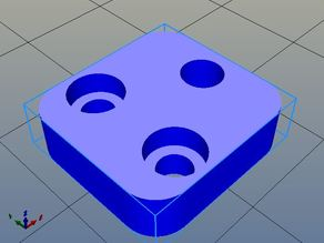 Mechanical Endstop holder for 1515 aluminum extrusion, used in SmartOne 150/200 3D printers.