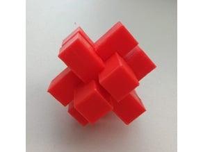 Square knot (Square Jack puzzle)