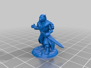 Beastmaster Mage for Frostgrave