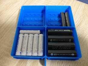 AA & AAA Battery Holder