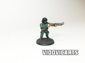 WW2 German Infantry 28mm (Aiming)