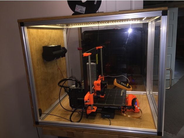 Prusa i3 MK2S Enclosure by jmillerfo - Thingiverse