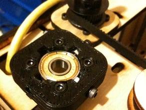 Locking Bearing Bracket for Makerbot Cupcake