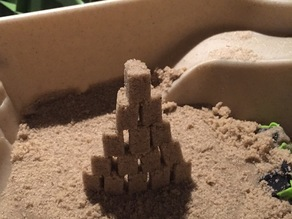 Mini Sand Castle Building Blocks