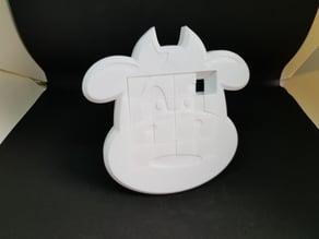 4x4 Cow sliding puzzle