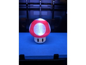 Super Mario Mushroom with Light