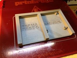 Adafruit Perma-Proto + Arduino Uno holder