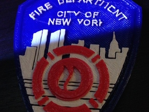 Official logo of the New York City Fire Department (FDNY)