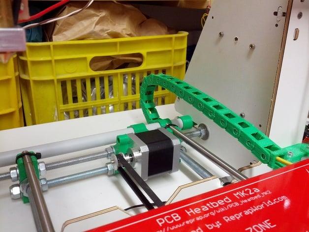 Macchina del Router di CNC 1m Catena Portacavi,10 x 10mm Catenina Portacavi Nylon Nero,Portacavi Catena del Cavo in Plastica per Stampante 3D
