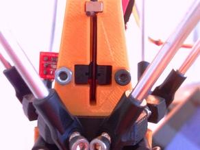 Kossel Z-probe mount with optical switch