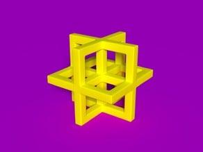 Leonardo da Vinci's geometric shape