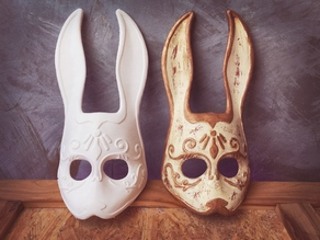 Splicer Bunny Mask from Bioshock