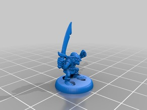 HeroQuest Goblins 18mm version