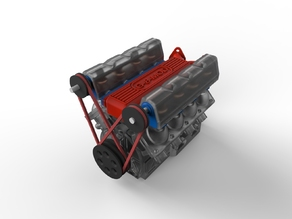 V8 NOT-Air Engine Prototype