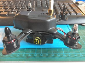 130mm Quad LIpo Protection and stand