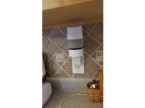 GFI Outlet Cover Speaker Stand (use with Google Home, Alexa)