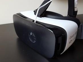 Gear VR Front Cover Fan Mount