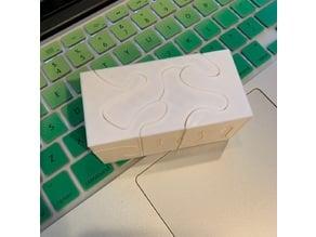 Puzzle 3D Rectangular Cuboid