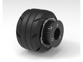 HTD-5M 34 Teeth Pulley - Street Wheels for Longboard