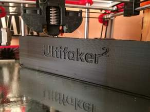 Ultimaker 2 clone back cover