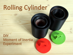 Rolling Cylinder - DIY Moment of Inertia Experiment