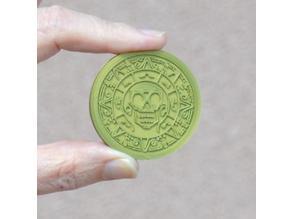 Pirates Caribbean Medallion/Coin