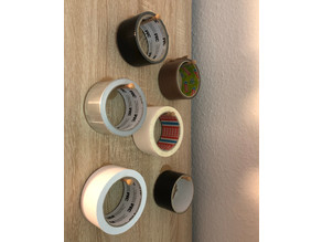 simple wallhanger (for tapes or similar)