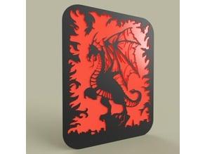 Simple Dragon - Flame