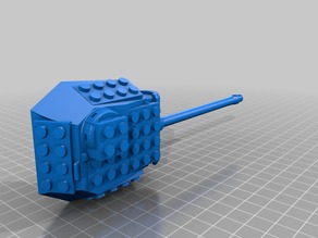 lego tank panther turrent