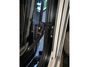 Winnebago Travato Acrylic Window Stay - Passenger Side