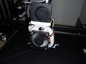 Fan Duct that fits new stock Ender 3 fan