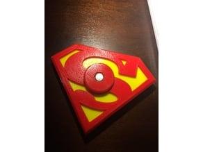 Superman Hand Fidget Spinner