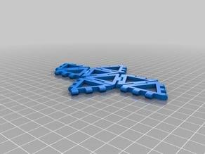 My Customized hinge/snap Octahedron net