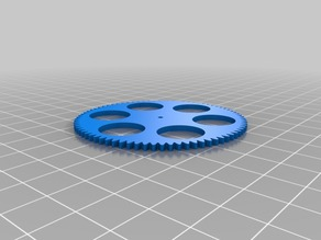 My Customized (parametric) gear (regular)