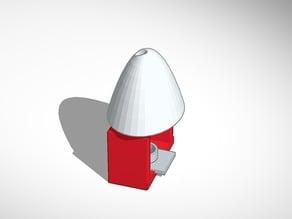 Ceramic mini tea light candle heater