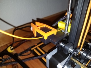 Strain Relief for CR-10s Filament Feed Sensor