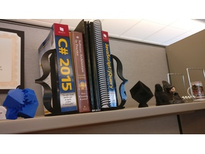 Programmer Curly Brace Bookends