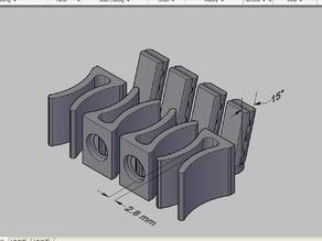 clip 2.8mm - sets of 4