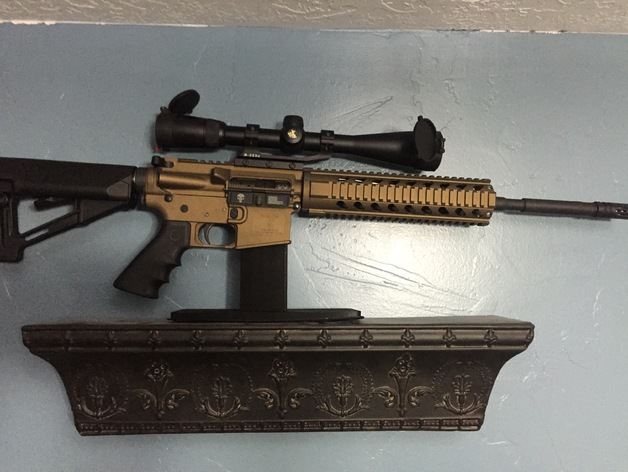 ar 15 display stand by topshot199 thingiverse