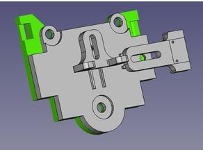 Tronxy X5S Linear Guide Gantry bracket bl-touch & X-End Stop mount & E3D V6 mount