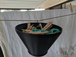 Hanging Peg Basket