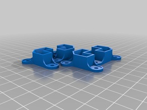 Wood Screw Printer Box Mounts